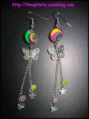 Boucles multicolores!