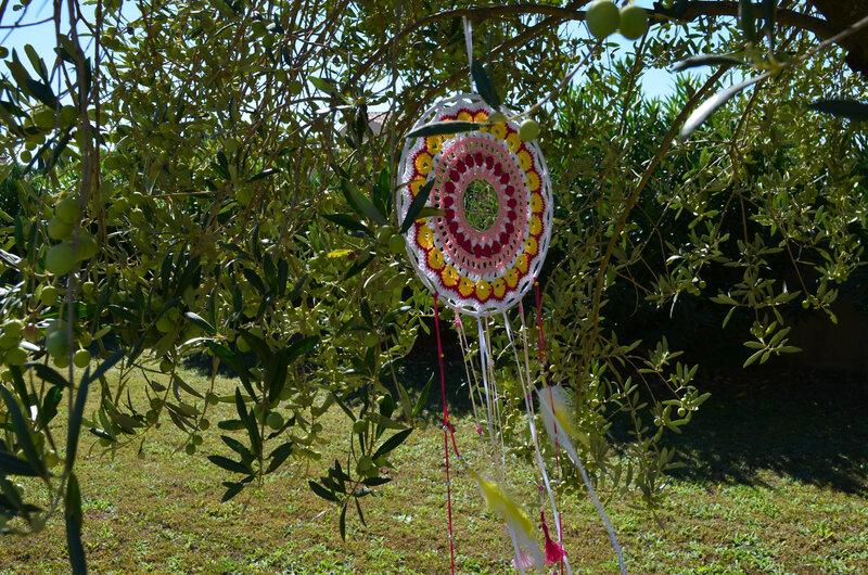 Attrape rêve-mandala -crochet-La chouette bricole (16)