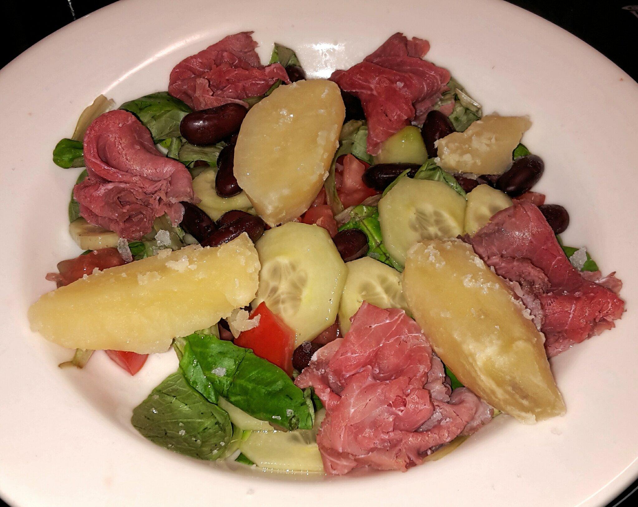 Salade de carpaccio de boeuf quand le r gime reste gourmand - Quand repiquer les salades ...