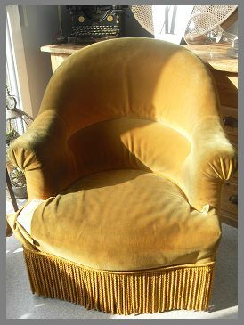 Mon crapaud s 39 est transform en compl tement zinc - Les plus beaux fauteuils ...