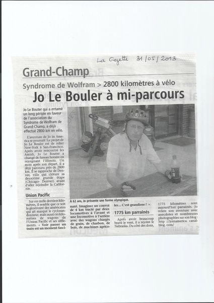 la gazette 31 05 2013