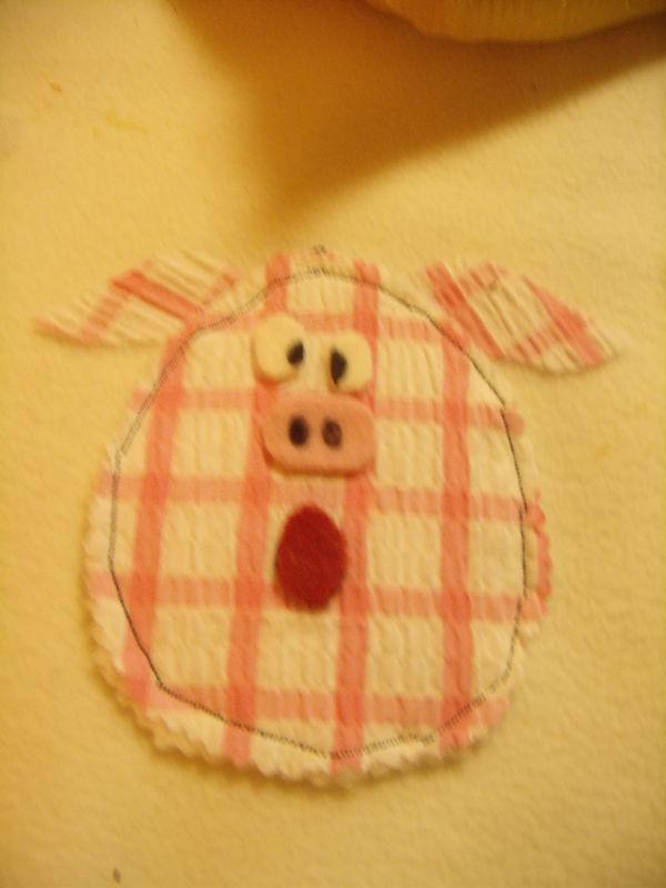 Détail deuxième page : soufflé le cochon !