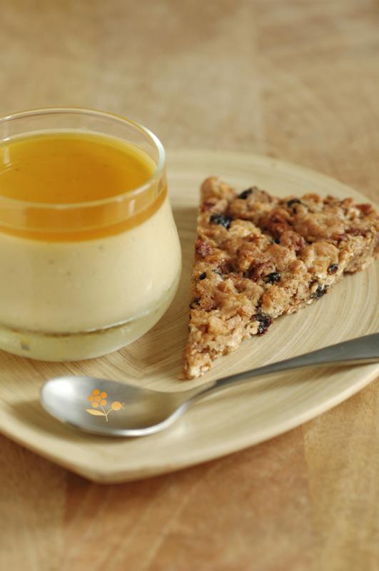 Crème orange & purée de noix de cajou_3
