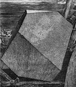DURER Melancholia I-detail du dodecaedre 1514-printinterestingdottumblr