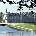 Chantilly (60) * vu depuis le village de vineuil