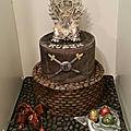Gâteau game of thrones cake got