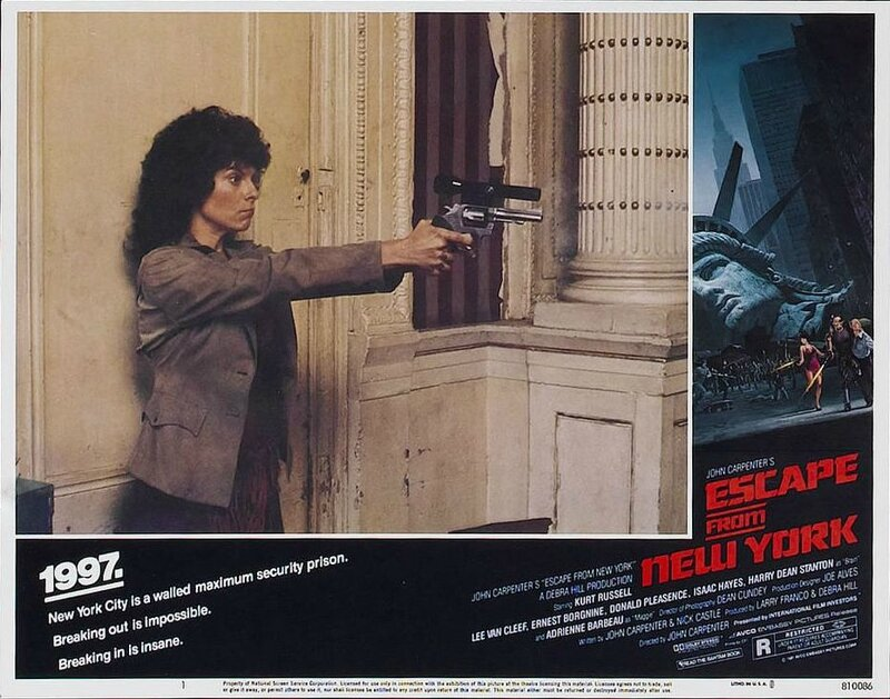 Escape from New York lobby card 7
