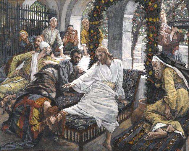 Christ et femme pécheresse et nard