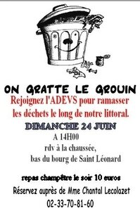 on gratte le grouin Vains Saint-Léonard juin 2012