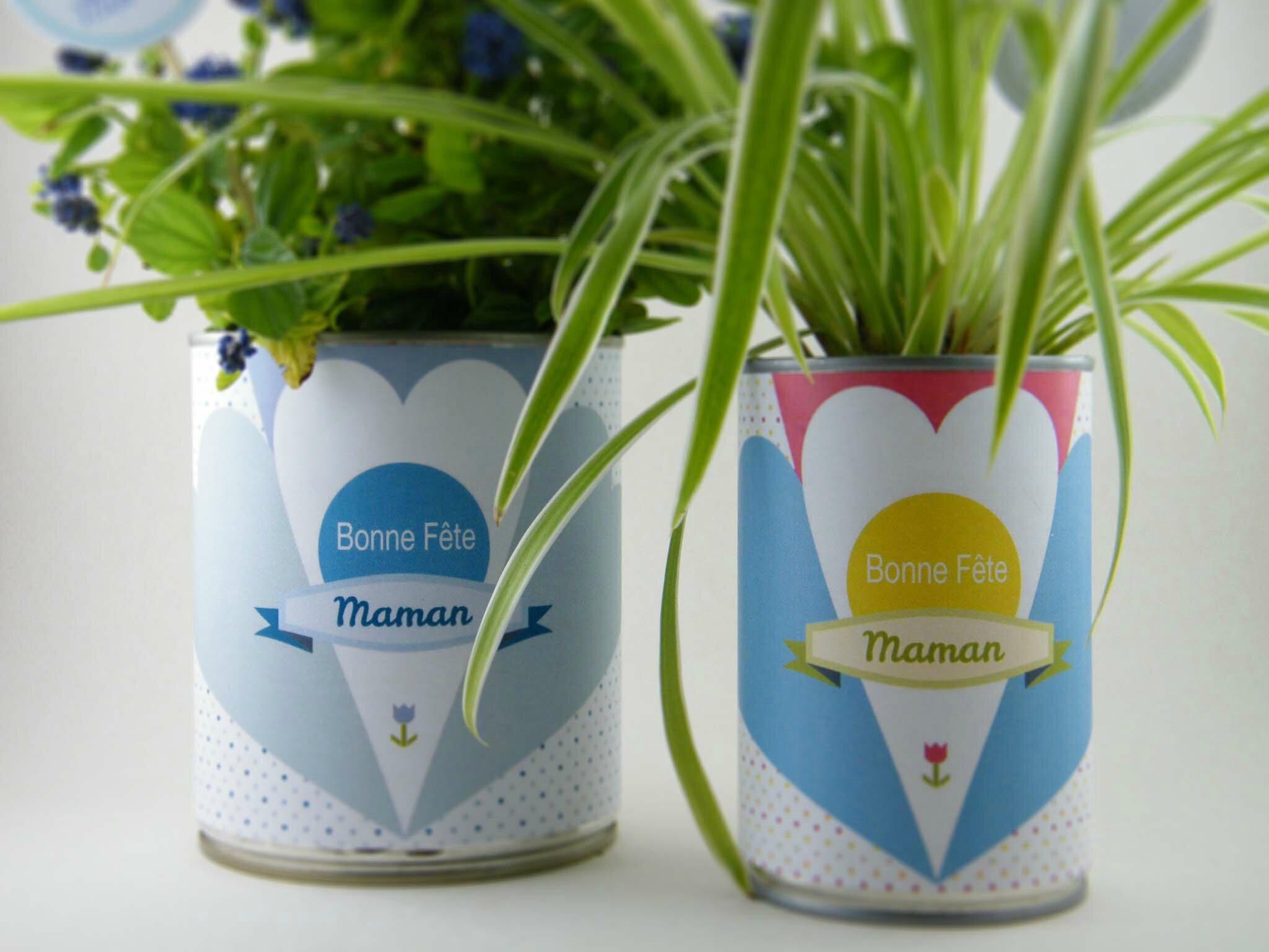 Des fleurs en conserve pour la fête de mères