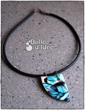 Pendentif The Blue Shark 2