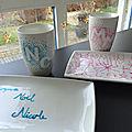 Petit cadeau pour les maîtresses : de jolies tasses avec les initiales des maîtresses