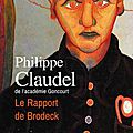 Le rapport brodeck, philippe claudel