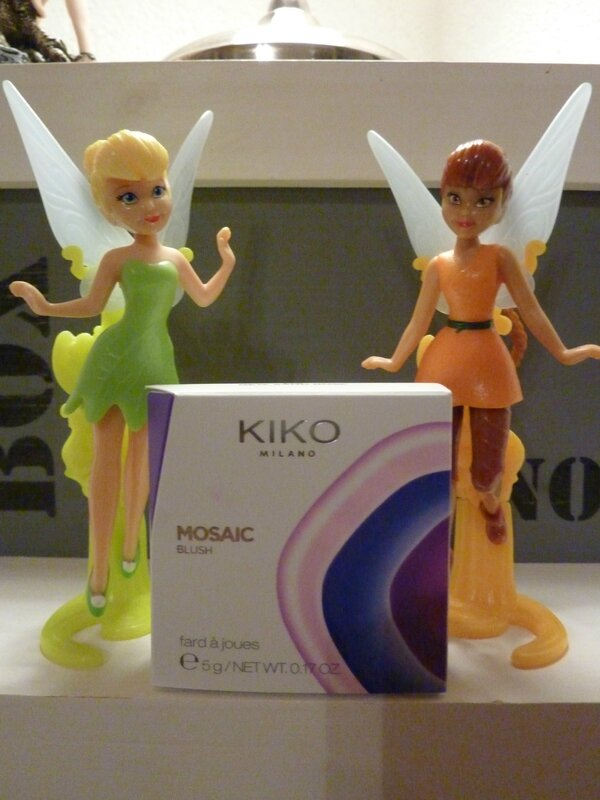 MOSAIC BLUSH CENERATION NEXT de chez KIKO