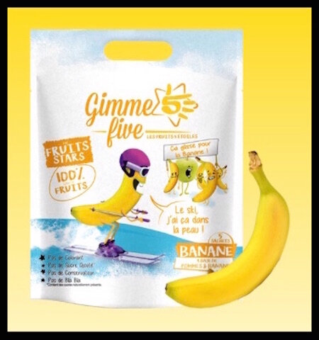 gimme five fruits stars banane