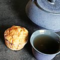 Muffins au chocolat blanc et aux framboises