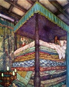 Princess_and_pea_Edmond_Dulac