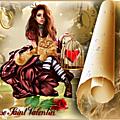 Créations photofiltre st valentin