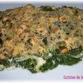 Lasagnes épinards, ricotta et saumon