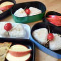 Bento 102: onigiri party! and bento day!