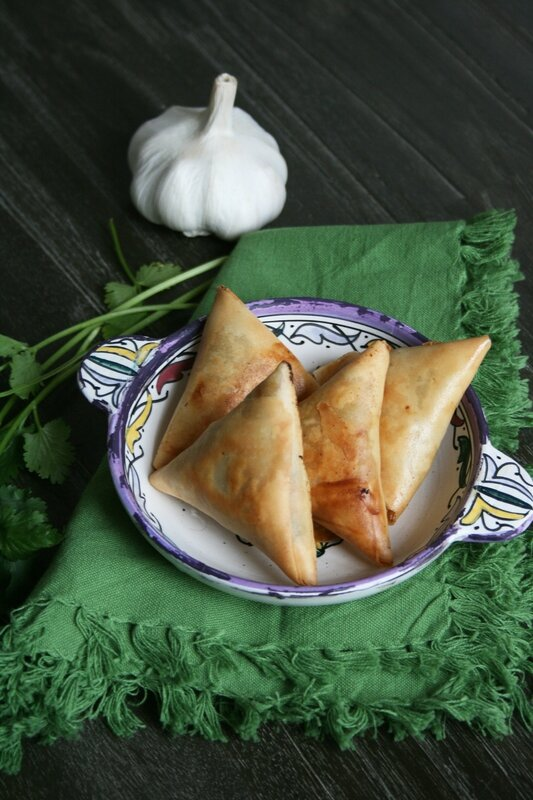 Bricks à la viande hachée - cuisine marocaine - minouchka