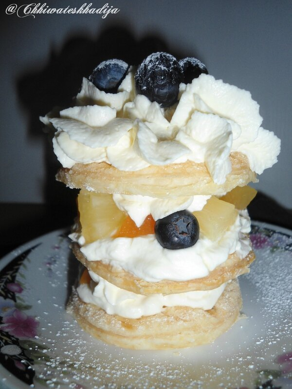Mille feuille zoom