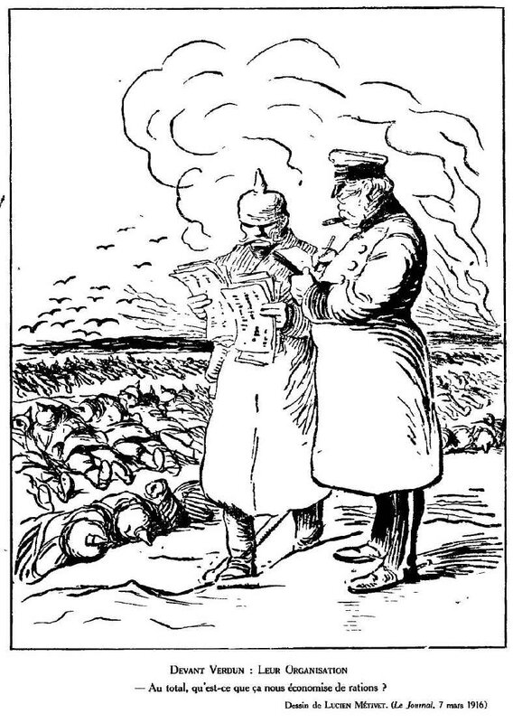 Dessins de guerre Verdun9