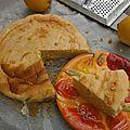 Gâteau amande citron