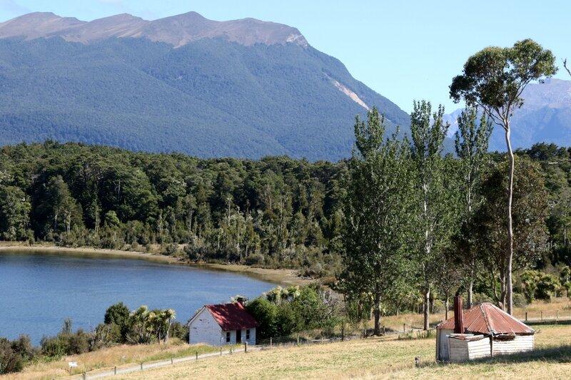 4W7A1632 Route Te Anau à Milford Sound - Lake Te Anau