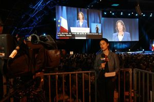 François Hollande Rennes avril 2012 PS TV BFM
