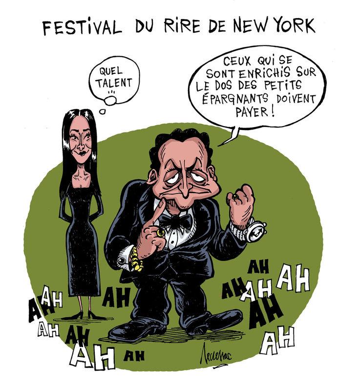 festival du rire à l'O.N.U.