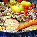 Ragoût de veau aux coco de paimpol .