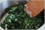 cuisson des épinards