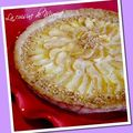 Tarte aux pommes ptissire