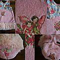 La robe et la couche assortie