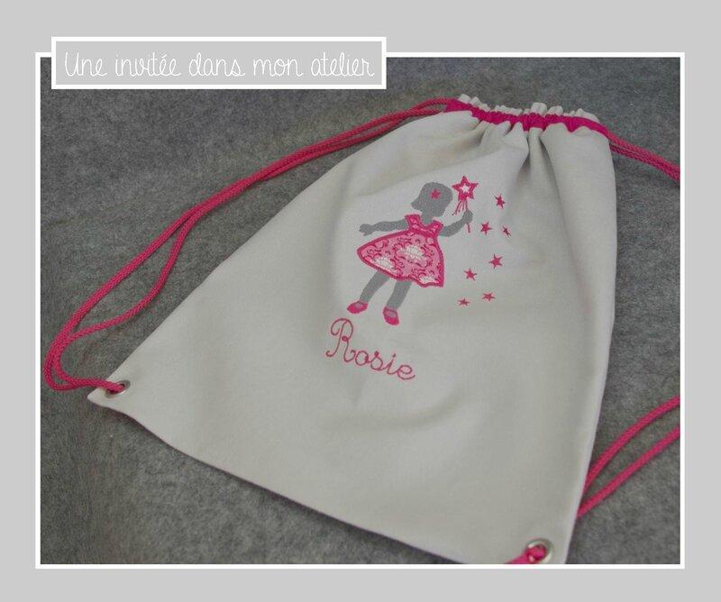 sac à dos personnalisé-tissu tilda