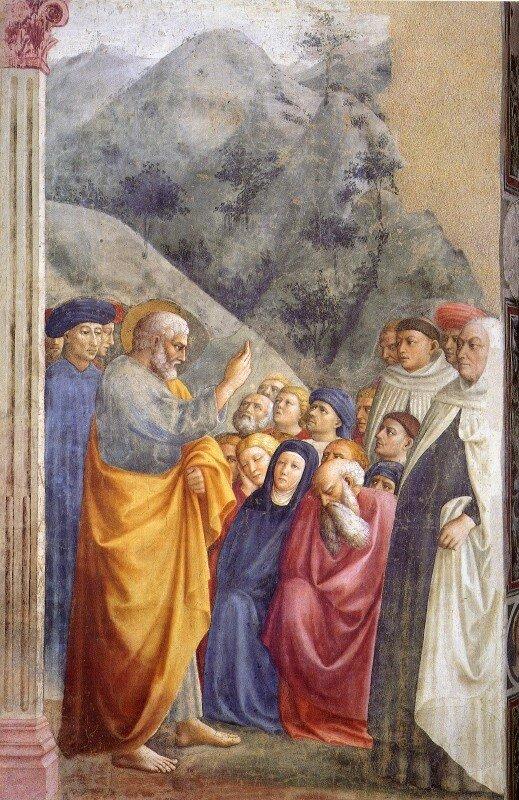 Masolino__sermon_de_st_Pierre