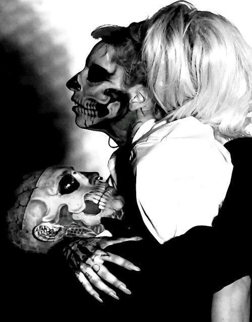 Rick-Genest-and-lady-Gaga