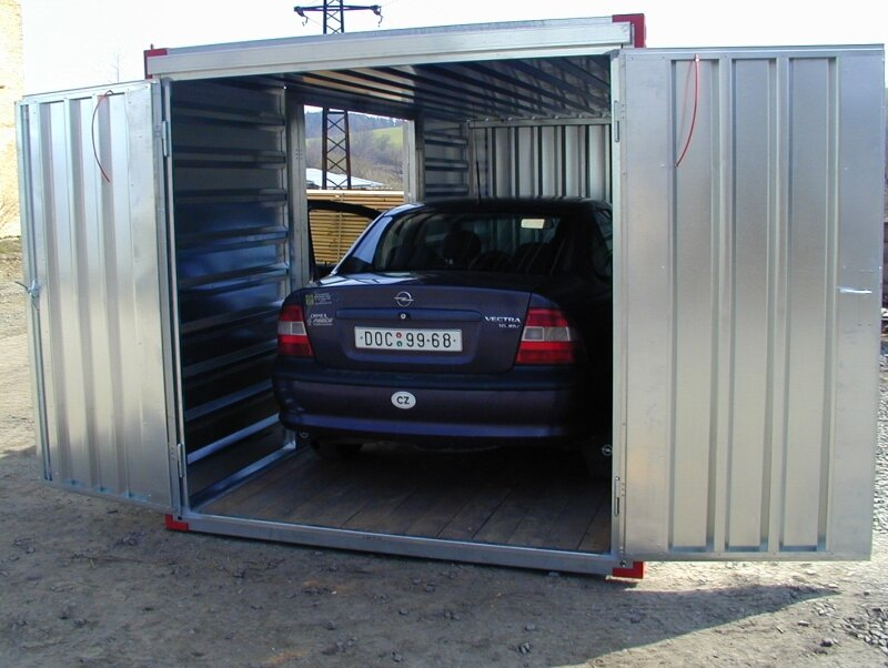 garage voiture 1 photo de photos box de parking. Black Bedroom Furniture Sets. Home Design Ideas