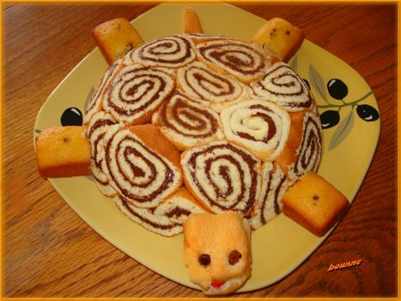 gâteau tortue