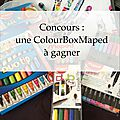 La colour box de maped #jeudicreation { concours }