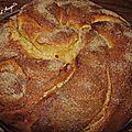 Brioche tourbillon à la vanille au cook'in (ou pas)