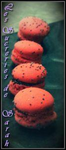 macarons fraise
