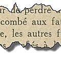 Les dames françaises…