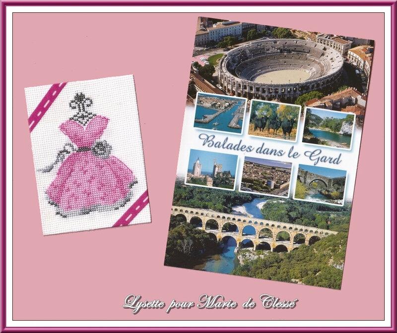 Échange ATC (Septembre) Chez Corinne (Robe) Lysette pour Marie de Clessé 2