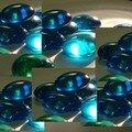 Cailloux bleus