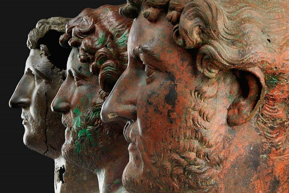 Exhibition brings together only surviving bronze portraits of the Emperor Hadrian