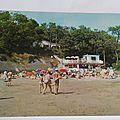 Meschers l'Hermitage plage Vergnes datée 1973