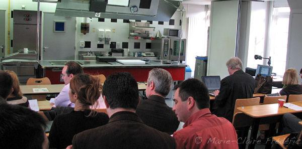 Seminaire de gastronomie mol culaire du miel et du sel - Ecole superieure de cuisine ...