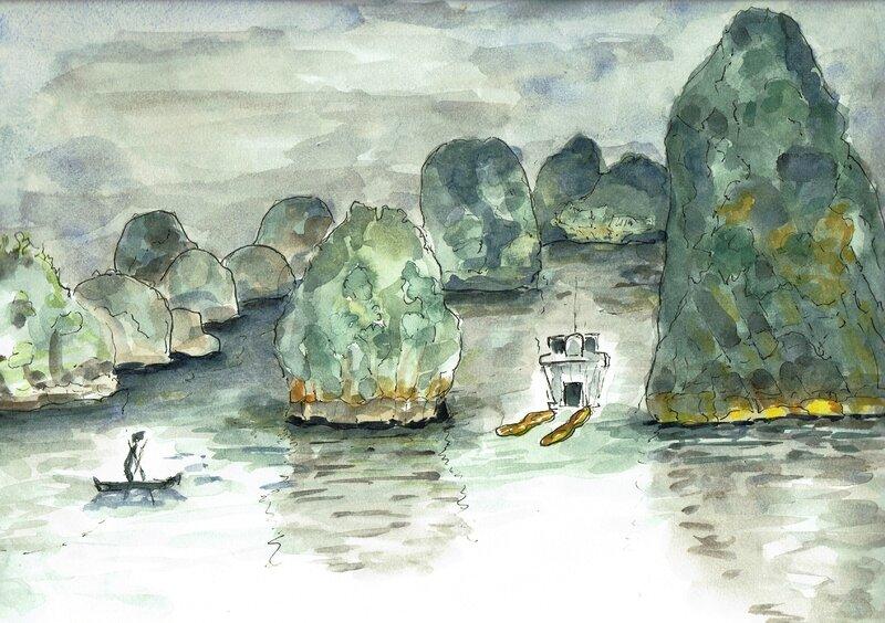 Baie d'Halong Cayak VN